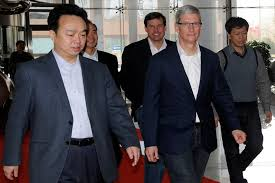 tim cook china mobile