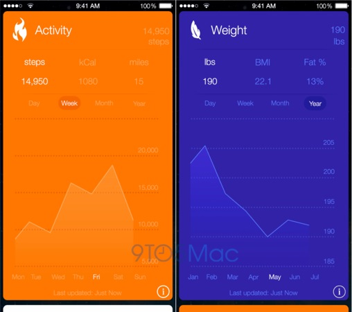 Healthbook-iOS8