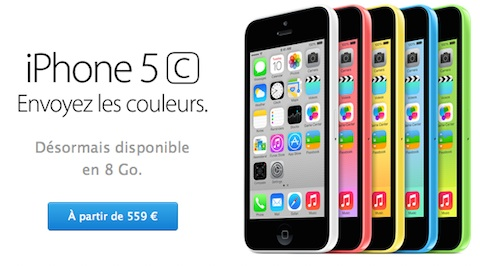 iphone5C8GO