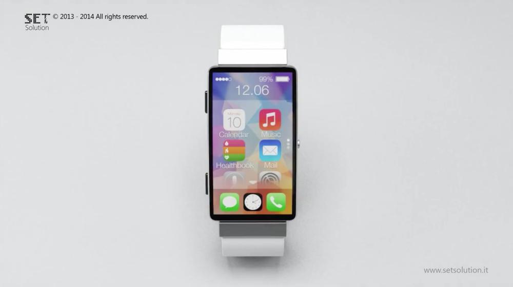 concept iwatch avec un cran de 2 5 pouces. Black Bedroom Furniture Sets. Home Design Ideas