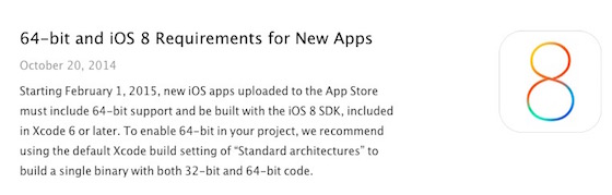 Apps-SDK-iOS-8-64-Bits