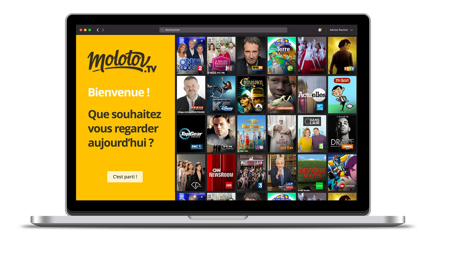 Molotov l 39 app pour regarder la tv sur iphone ipad et for Application miroir pour ipad