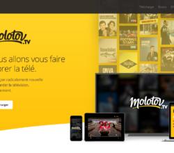 Molotov - Site web