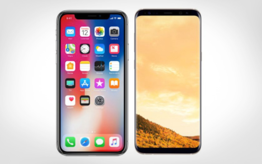 l iphone x dispose d une bien meilleure autonomie que les galaxy s9 et s9. Black Bedroom Furniture Sets. Home Design Ideas
